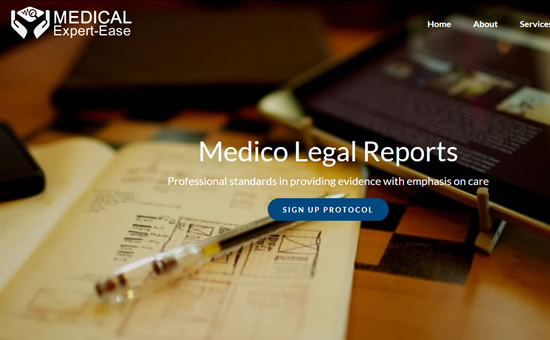 Medcial Expert-Ease web screenshot